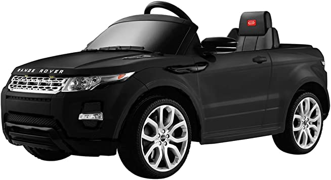 Range Rover Style Kids Car 12 V with Remote Control White