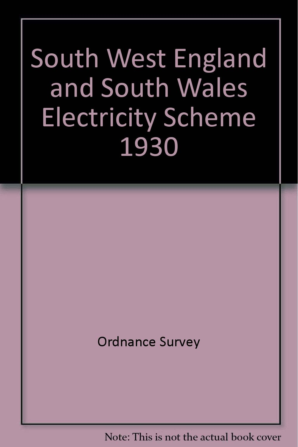 Read Online South West England and South Wales Electricity Scheme 1930 ebook