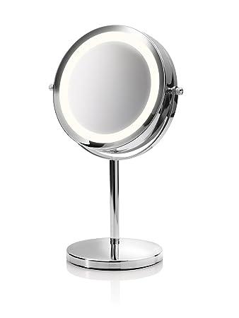 Medisana CM 840 Kosmetikspiegel mit LED Beleuchtung, normal und 5 ... | {Schminkspiegel mit beleuchtung 87}