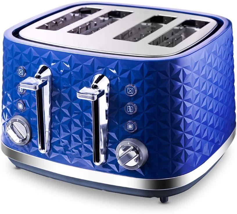 NAFE 4 Slice Toaster Blue Four Slice Toaster Blue Toaster Toaster Mini Toast