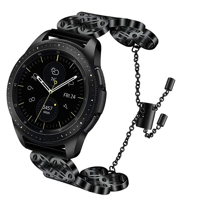 Amazon Com Vigoss Metal Bracelet Compatible With Galaxy Watch 42mm