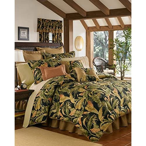 Top La Selva Black King Duvet Cover by Thomasville for sale