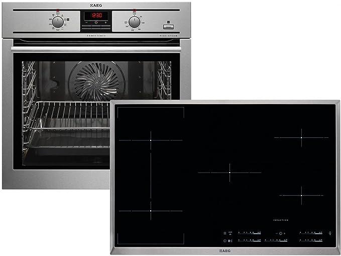 AEG psb35889 Set Plus Team del Horno be3003501 m + Inducción ...