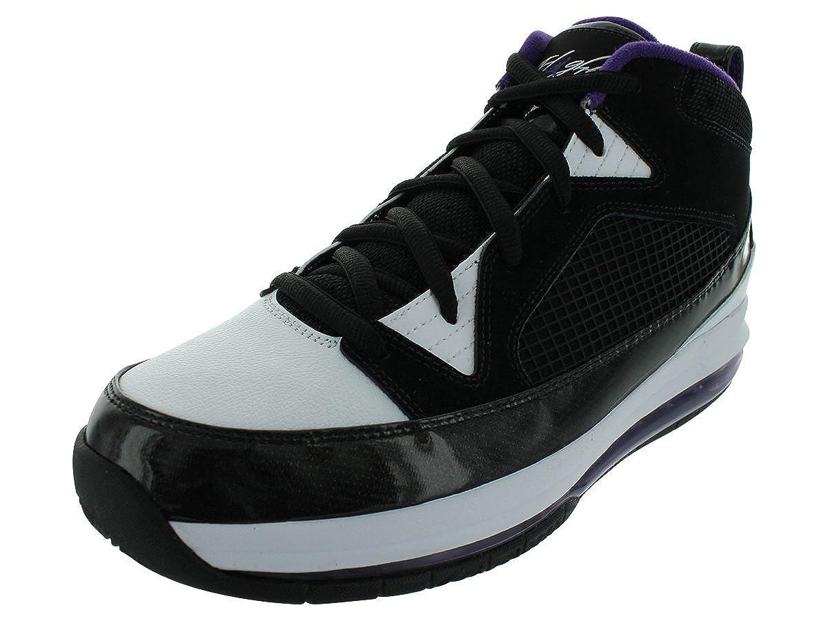 on sale 7e2a4 dab6c Amazon.com   Nike Men s NIKE JORDAN FLIGHT 9 MAX RST BASKETBALL SHOES 13  (BLACK CLUB PURPLE WHITE)   Shoes