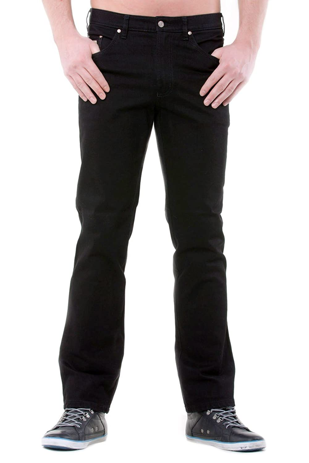 Revils Men's Jeans Black black rinse washed