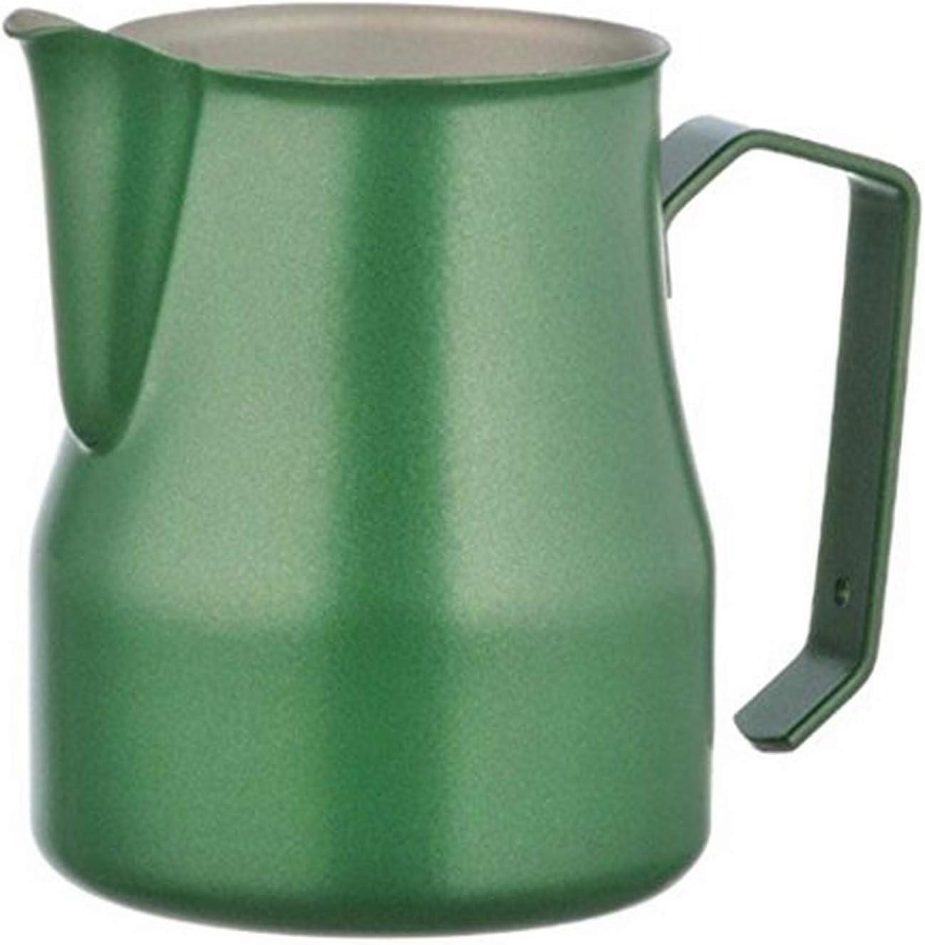 17 Fl Metallurgica Motta 8007986028501 Motta Stainless Steel Professional Milk Pitcher Oz Green One size