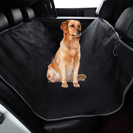 NHILES Dog Car Seat Covers Flaps Seat Cover for Back Seat 100/% Waterproof Scratchproof Non-Slip Durable 600D Oxford Fabric Soft Pet Back Seat Covers for Cars Trucks and SUVs
