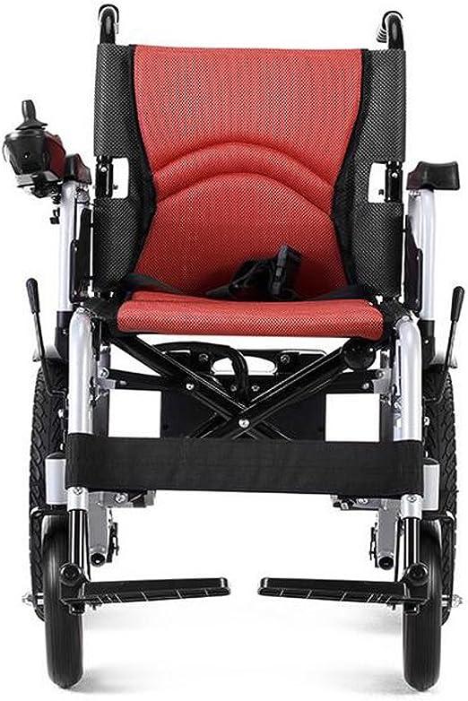 Amazon.com: beiz – Silla de ruedas eléctrica plegable Power ...