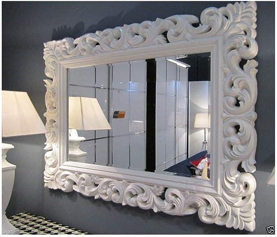 r/étro r/étro roko stile barocco Lnxp 45 x 38 cm r/étro r/étro ripetitivo r/étro Specchio ovale da parete