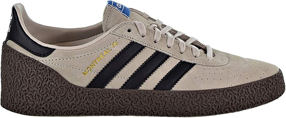 Todo el mundo represa altavoz  Amazon.com | adidas Originals Montreal 76 Men's Shoes Clear Brown/Core  Black/Gum b37915 (7 D(M) US) | Fashion Sneakers