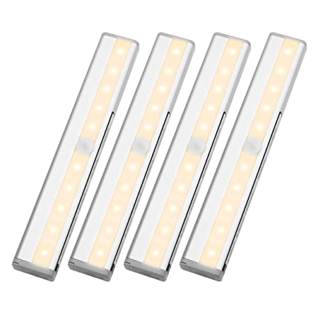 Amazon.com: LE LED Motion Sensor Closet Lights, 10 LED Wireless ...