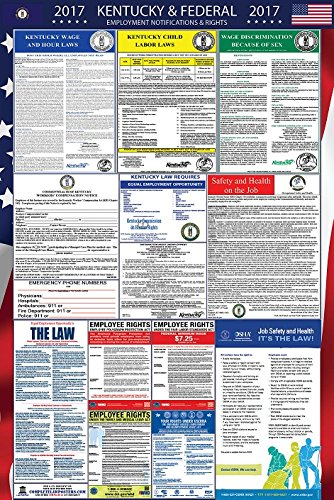 2017 Kentucky and Federal Labor Law Poster Laminated
