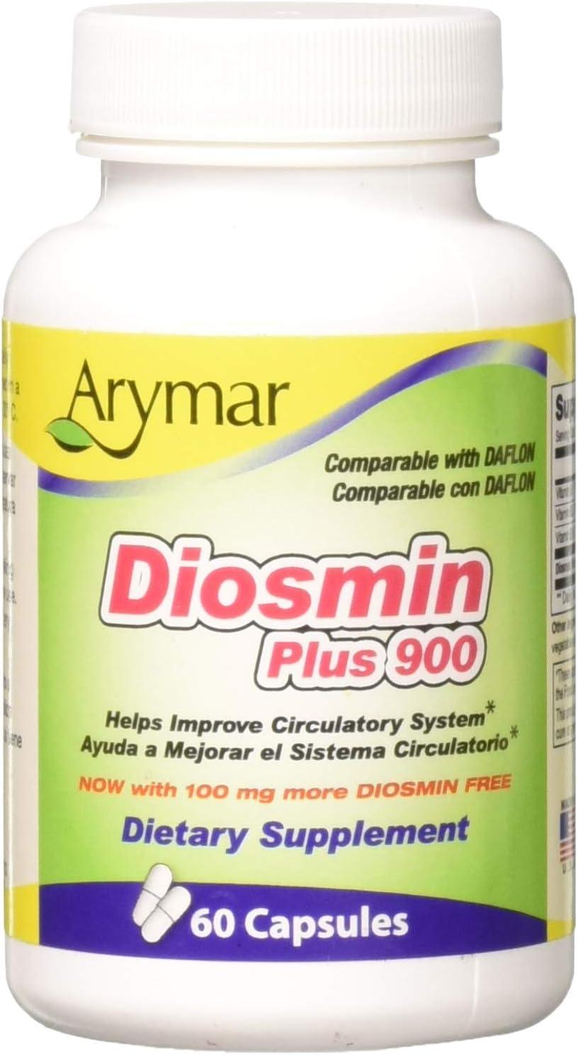 Arymar Diosmin Plus 900, 60 Count