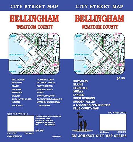 Bellingham / Whatcom County, WA Street Map (Map Bellingham Of Wa)
