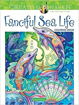 Amazon Creative Haven Fanciful Sea Life Coloring Book Adult