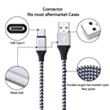 USB C Cord, 3Pack 6ft FiveBox Fast USB Type C Cable