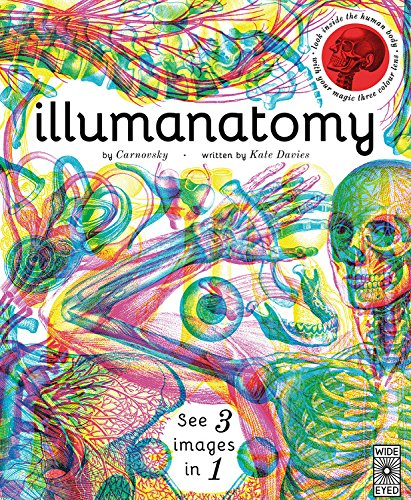 - Illumanatomy: See inside the human body with your magic viewing lens (See 3 images in 1)