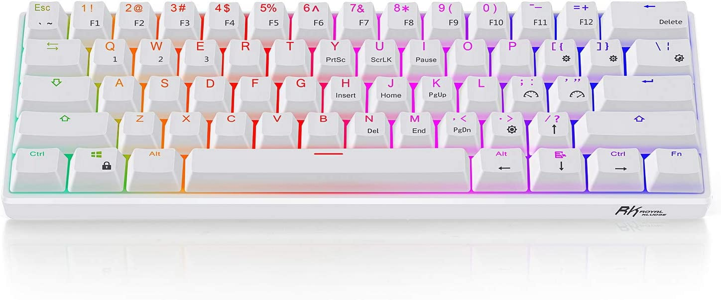 RK61 60% RGB Mechanical Gaming Keyboard