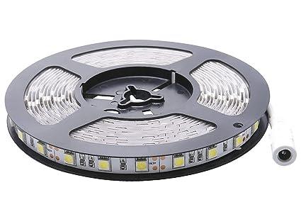 Auralum 500 cm 300 ledes 5050 SMD frío blanco LED Stripe, Eco de xl545
