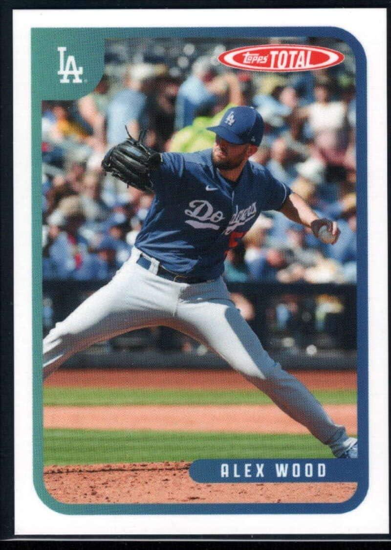 Amazon.com: 2020 Topps Total (Wave 2) Baseball #141 Alex Wood Los ...