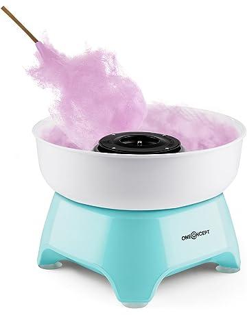 Oneconcept Candycloud Máquina para Hacer algodón de azúcar (500W Potencia, contenedor Desmontable, diámetro