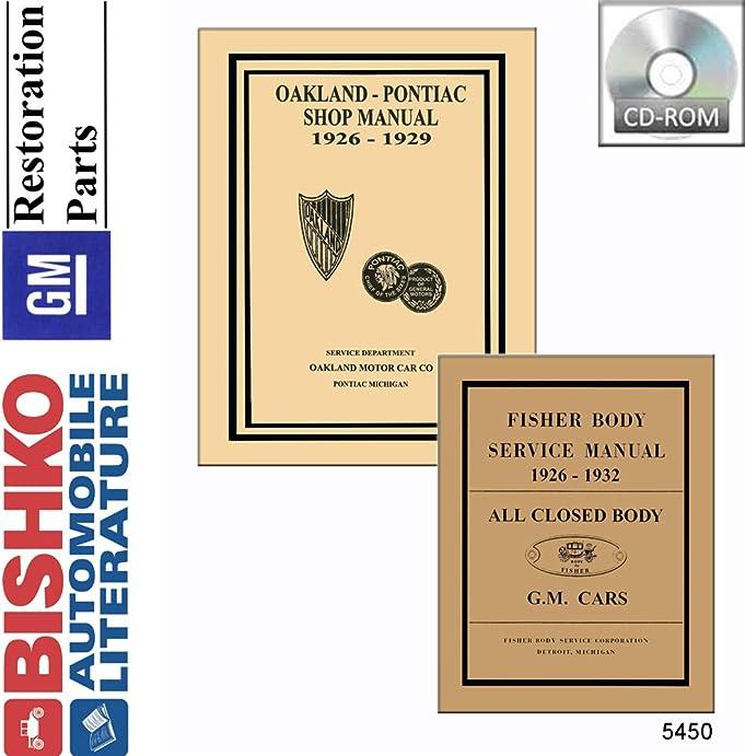 61GOKCPKxDL._SX681_ amazon com 1926 1929 1927 1928 pontiac shop & body manual cd 1929 Oakland Brougham at gsmportal.co