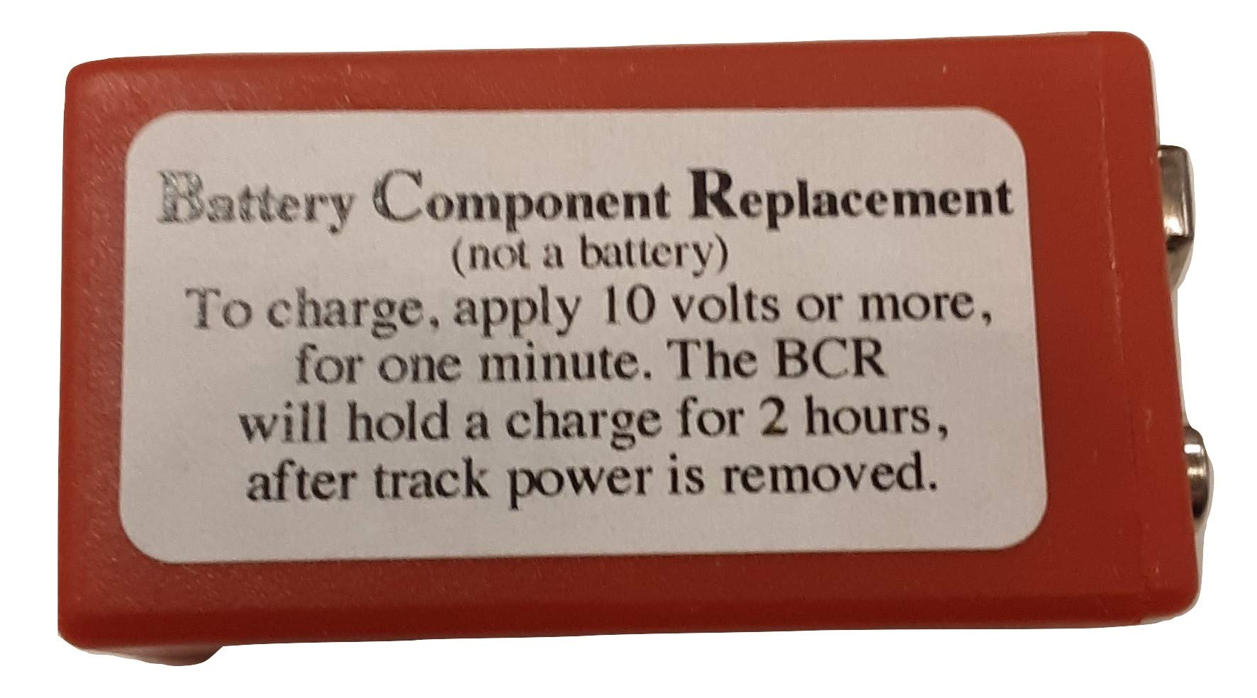 MTH BCR BATTERY COMPONENT REPLACEMENT FOR PS1 PS2 ENGINES W 9 VOLT BATTERIES