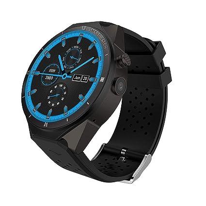Amazon.com: KW88 3G WiFi reloj inteligente teléfono celular ...