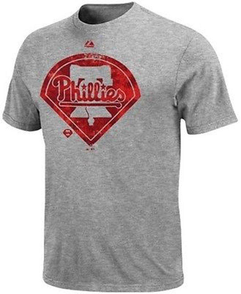 Vf Philadelphia Phillies Mlb S Dramatic Struggle Gray T Big Tall S Shirts