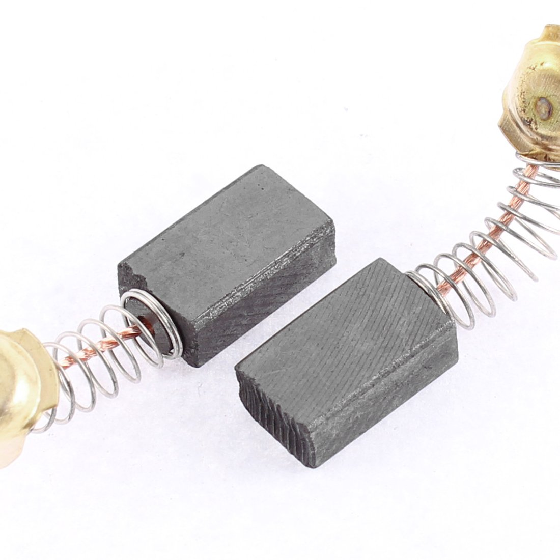 sourcing map Carbon Brushes for Electric Motors 12mm x 8mm x 5mm Replacement Repair Part Set of 2