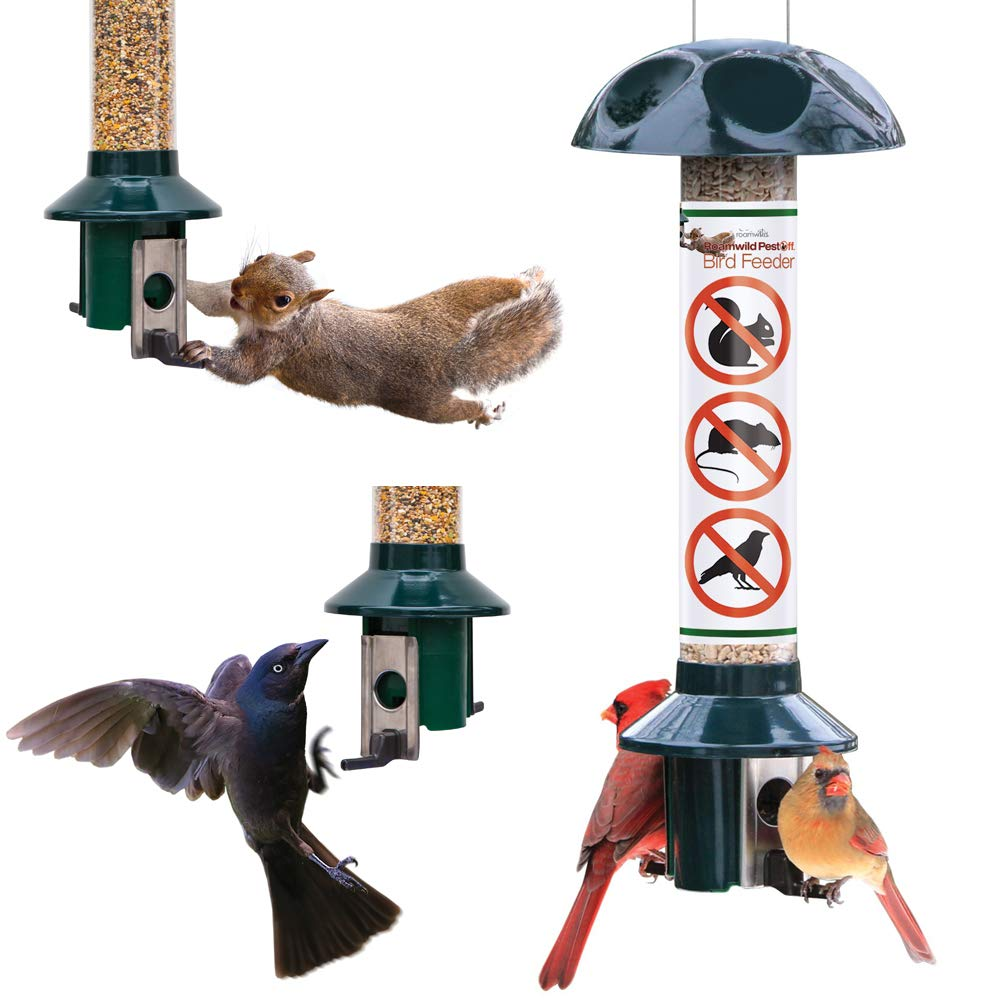 Roamwild PestOff Squirrel Proof Bird Feeder Mixed Seed Sunflower Heart Version product image