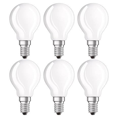 Osram Retrofit Cl P Bombilla LED E14, 4 W, Blanco, 7.8 x 4.5