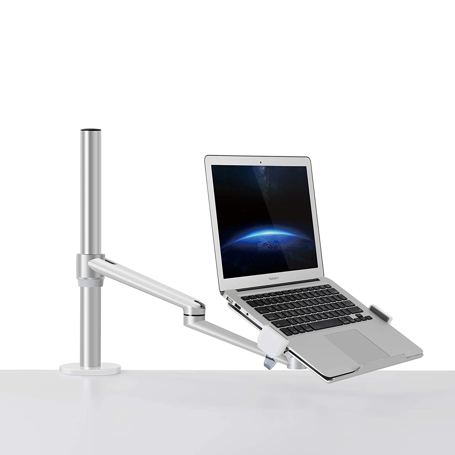 Super Thingy Club Single Arm Laptop Mount Desk Mount Stand Home Interior And Landscaping Synyenasavecom