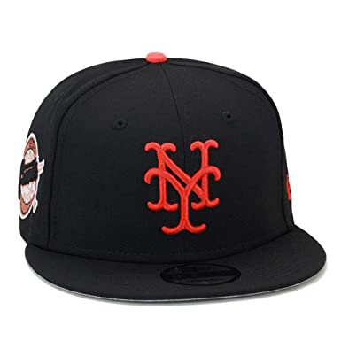 07a552a2a2a91b New Era 9FIFTY New York Giants Snapback Hat Cap 1954 World Series Side  Patch Black/