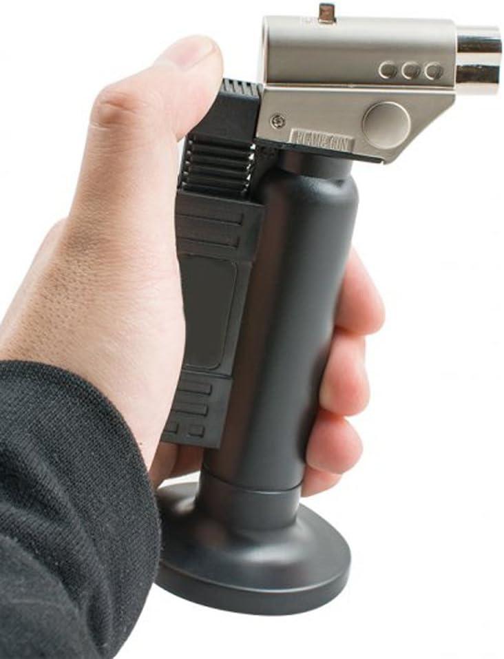 sxbest 1 Pack Flame pistola butano quemadores electrónico ...