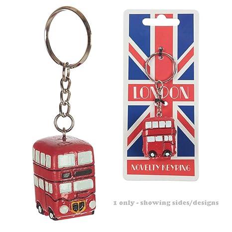 PUCKATOR Divertido Llavero de autobús de Londres Routemaster ...