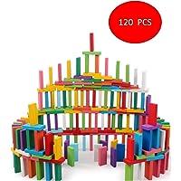 Vivir Dominoes Blocks Stacking Toys for Kids (120 PCS)