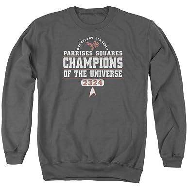 025b28d7 Star Trek - Mens Champions Sweater: Amazon.co.uk: Clothing