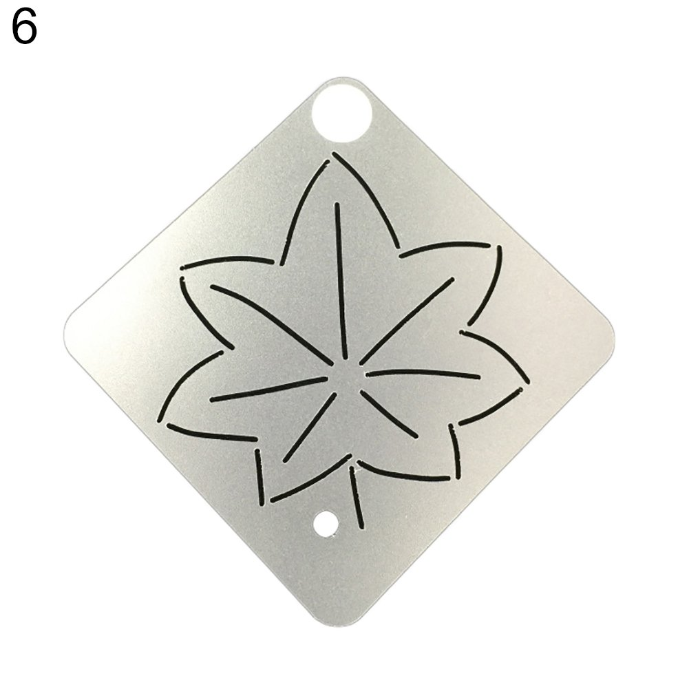 Can Be Used As A Holiday Gift. Quilt Template Embroidery Stencil 7# Maserfaliw Embroidery Quilt Matte Template Stencils Drawing Craft Tool Sewing Accessories A Must-Have Tool For Home