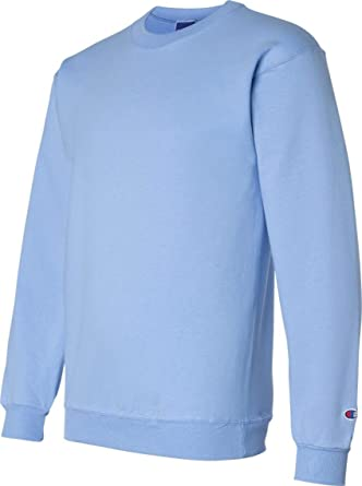 ddd1dcebc490 Amazon.com: Champion S600 50/50 EcoSmart Crew T-Shirt - Light Blue ...