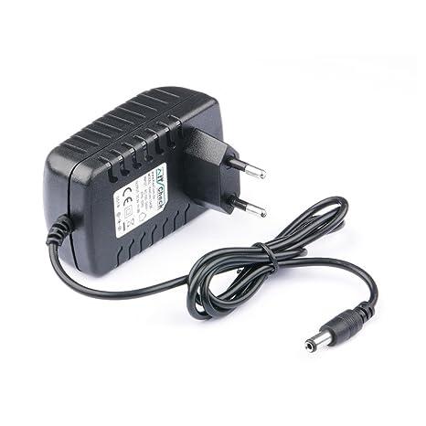 KesCom - Cargador/Fuente de alimentación 9 V hasta 2000 mA 2 ...