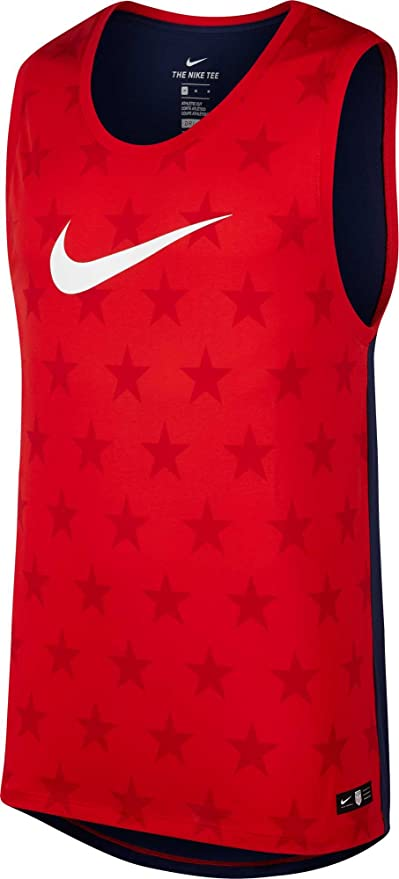 1b9d828fbb27d Amazon.com  Nike Men s Dry Americana Tank Top  Sports   Outdoors