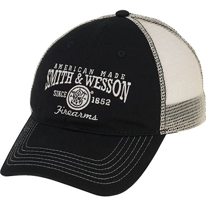 c2db163d Amazon.com: 540Brands Smith & Wesson American Pride Mesh Backed Hat ...