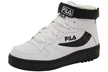 512893bb5 Image Unavailable. Image not available for. Colour: Fila Men's FX100 White  Black Sneakers Shoes