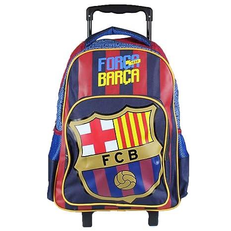 FC Barcelona Mochila Trolley Mochilas escolares Mochilas Maleta Equipaje Mano 32x43x18cm