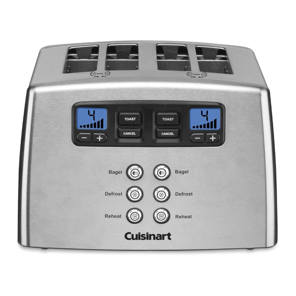 Cuisinart CPT-440 Touch to Toast Leverless 4-Slice Toaster (Renewed) by Cuisinart (Image #1)