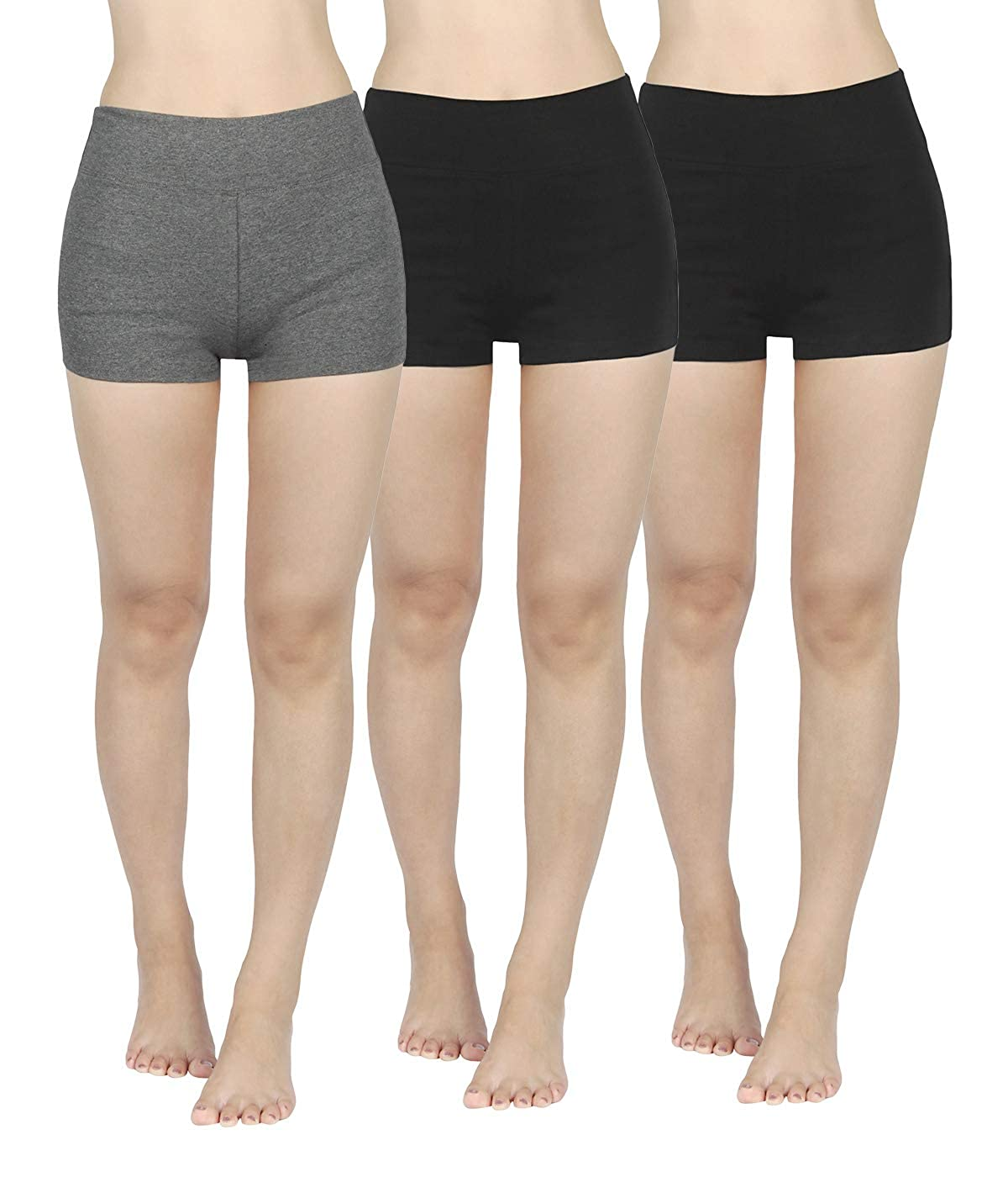 TALLA S. 4HOW - Leggings - Capri - Básico - para Mujer
