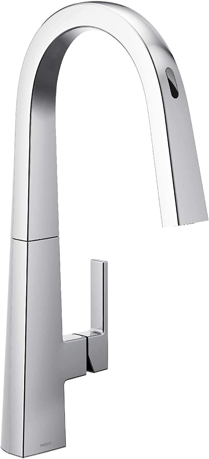 Moen S75005evc Nio Collection Ubymoen Smart Pulldown Kitchen Faucet With Voice Control And Motionsense Chrome Amazon Com