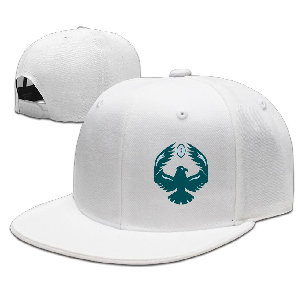 Eagles Fan Hats Football Unisex Flat Brim Baseball Hats 100/% Cotton Adjustable Hip Hop Caps