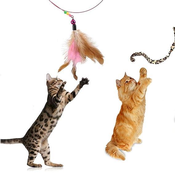 Juguetes para gatos, 25 unidades, incluye túnel de 3 vías con ...
